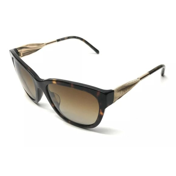 Burberry Women's Havana Polarized Sunglasses!